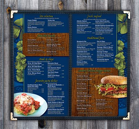 Eileens Country Kitchen by Eileen S Country Kitchen Menu On Behance