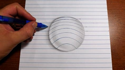 How To Make 3d Drawing On Paper - drawing pencil 3d easy drawing of sketch