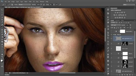photo retouch tutorial adobe photoshop krunoslav stifter redhead girl with freckles retouch