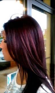 plum brown hair color wella purple hair hair nails plum color