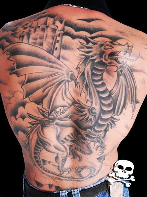 tattoo tribal sombreado dragao medieval sombreado tattoo