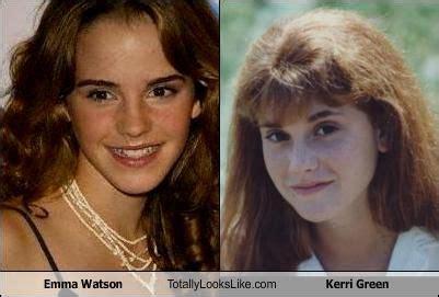 emma watson looks like emma watson totally looks like kerri green andy the