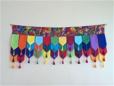 Handmade Torans - prayer flags on prayer flags flags and fabric