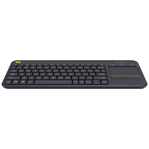 Keyboard All In One Touch Keyboard Blackweb logitech k400 plus wireless touch keyboard black 920 007165 mwave au