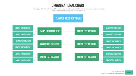 Power Organization 3 organizational chart power point presentation by