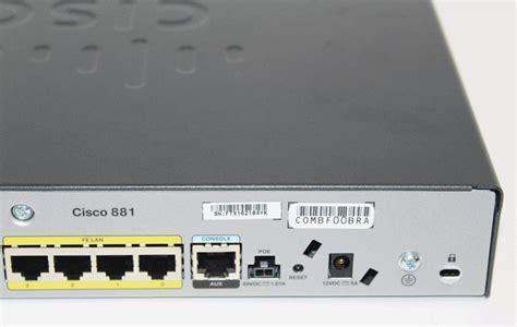 Router Cisco 881 Sec K9 cisco cisco881 sec k9