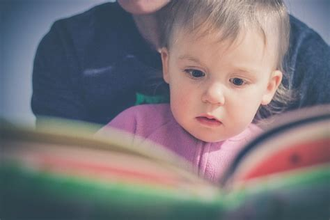 picture of a child reading a book free photo baby kid child boy reading free image on