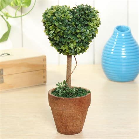gardenia topiary tree 8 quot plastic grass topiary tree pot dried plant wedding