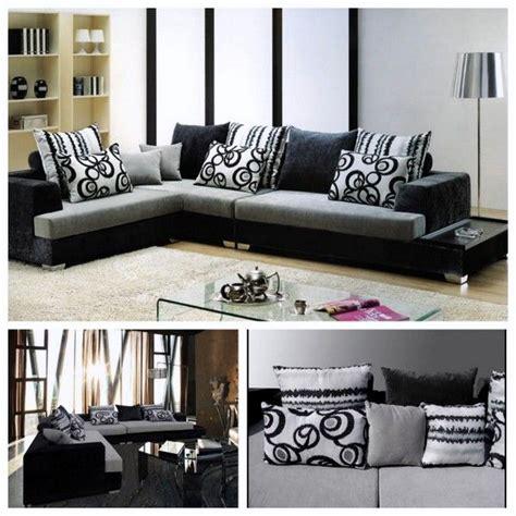 soggiorno bianco e nero divano bianco e nero idee per il design della casa
