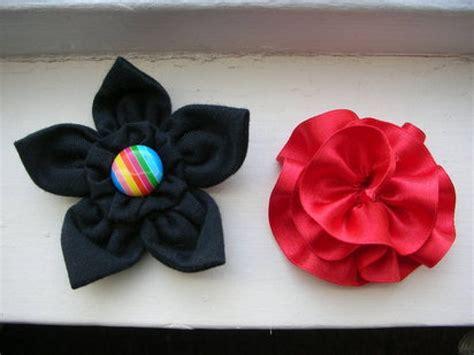 imagenes flores de tela flores hechas con tela manualidades