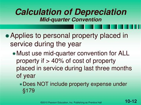Section 179 Depreciation Recapture by Ppt Depr Cost Recovery Amortization Depletion