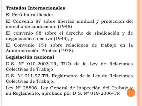 convenio colectivo de trabajo n 306 98 derecho de la 16 11 11 derechos fundamentales en eltrabajo chiclayo