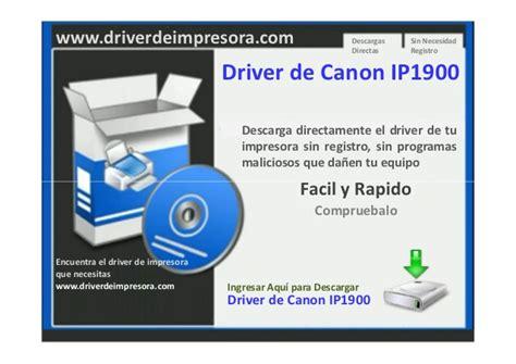 reset canon ip1900 windows 7 descargar driver de impresora canon ip1900