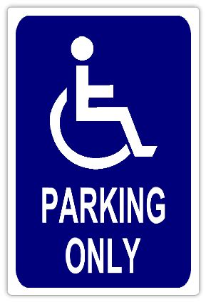 handicap parking 103 handicap parking sign templates