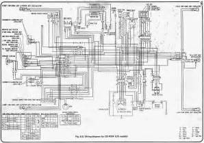 honda cb400 wiring diagram honda motorcycle wire harness images
