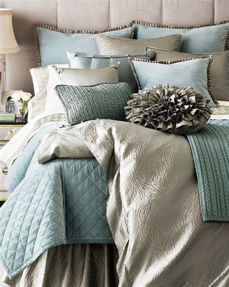 gray and aqua bedding aqua silver bedding little house pinterest silver