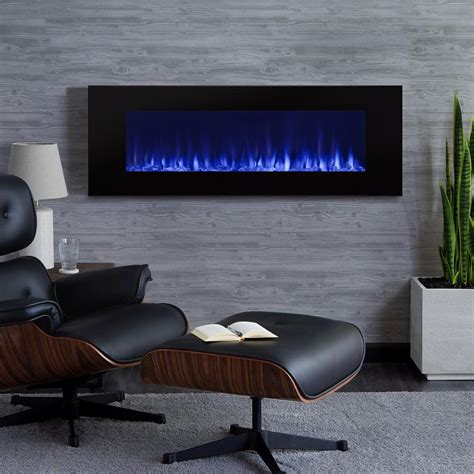 electric in wall fireplace real dinatale 50 in wall mount electric fireplace in black 1330e bk the home depot