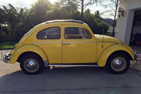 volkswagen beetle 1960 1960 volkswagen beetle sunroof 184303