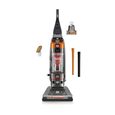 Vacuum Cleaners Hoover Bolde 0026500008 hoover windtunnel 2 pet rewind bagless upright vacuum cleaner in orange uh70832 the home depot