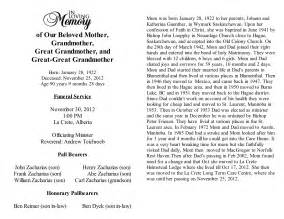 free obituary template best photos of template of obituary free obituary