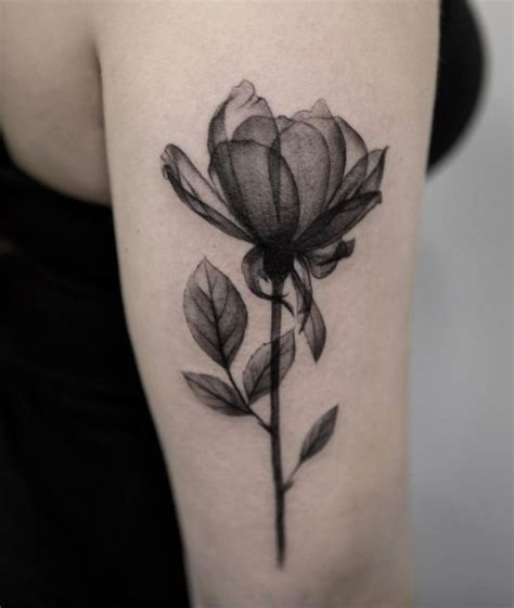 grey flower tattoo designs best 25 black and gray tattoos ideas on