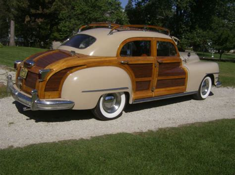 chrysler town and country roof rack 1948 chrysler town and country 4 door sedan with wood roof