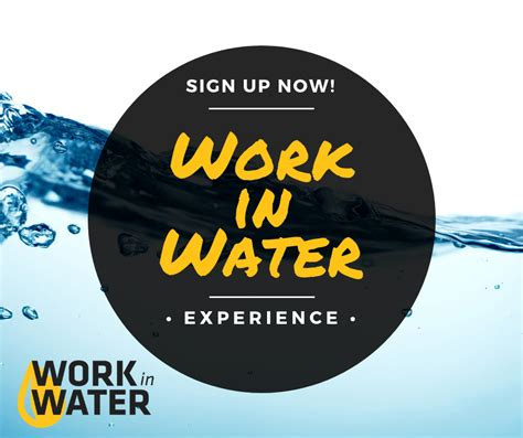 work  water experience