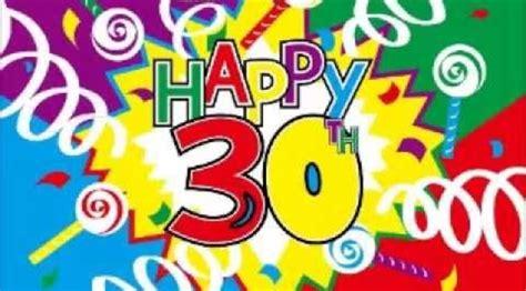 compleanno 30 anni auguri di 30 anni compleanno fourcolorcreative