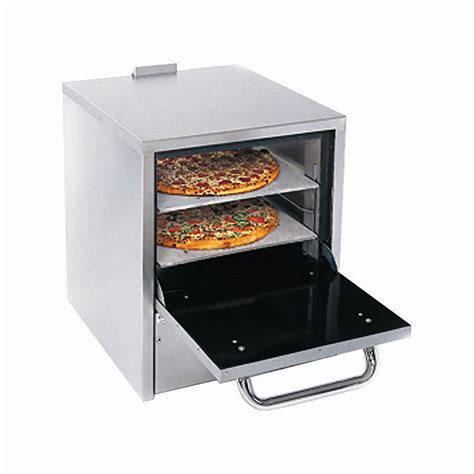 Oven Pizza Gas comstock castle po19 pizza oven counter top gas w two 19 quot hearth decks