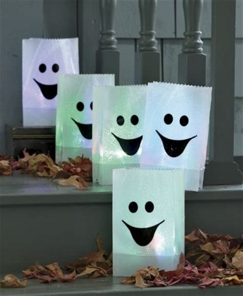 Paper Bag Ghost Craft - quot paper bag ghost quot luminaries diy and craft ideas