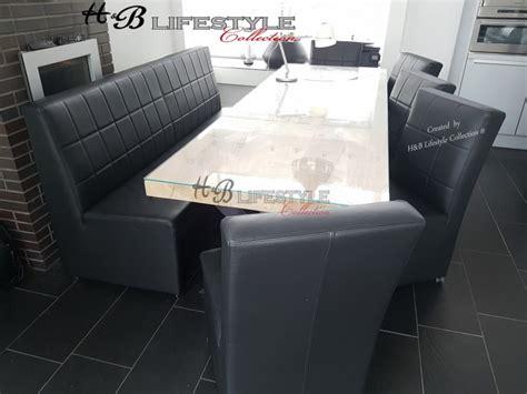 eettafel met stoelen en bankje bankje bij eettafel hb lifestyle collection