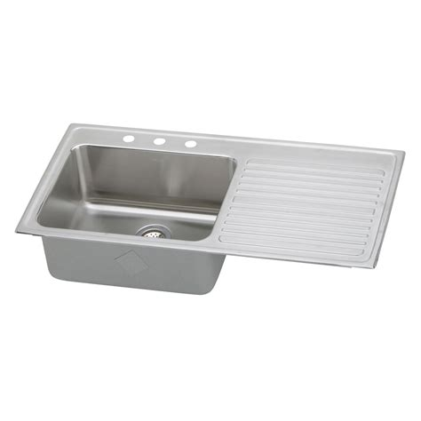 Elkay Sinks Kitchen Elkay Ilgr4322 Traditional Gourmet Bowl Single Basin Kitchen Sink Atg Stores