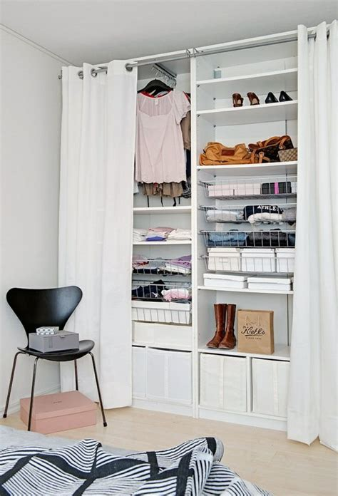 kleiderschrank vorhang kreativ vorhang kleiderschrank die besten 25 schrank ideen