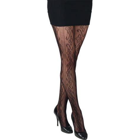 patterned fashion tights uk black fishnet patterned fashion tights lingerie new