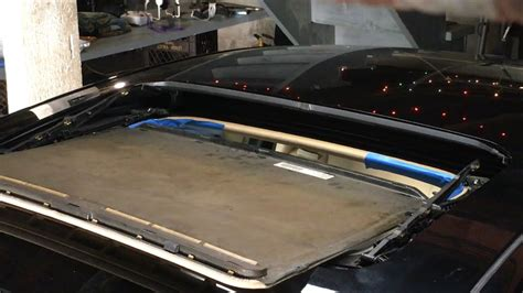 2009 chevy silverado moon roof drain how to remove sunroof glass and replace shade guide