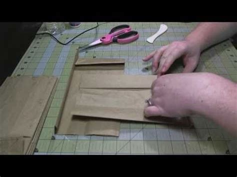 tutorial for scrapbook techniques 1000 images about paper bag crafts on pinterest grocery