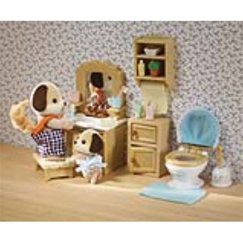 calico critters bathroom set international playthings cc2480 deluxe bathroom set