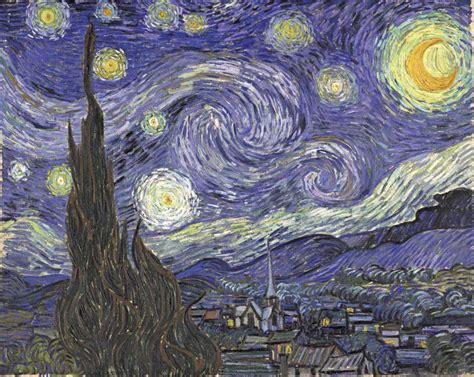 starry night wordlesstech starry night by vincent van gogh