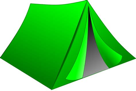 transparent tent free vector graphic tent cing green outdoor free