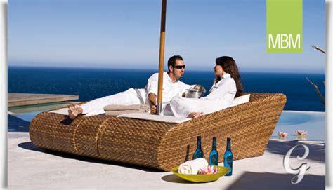 relaxliegen garten lounge relaxliege f 252 r den garten mbm gartentraum de