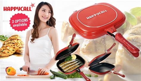 Happy Call 28 Cm Panci Pan Happycallbuku Resep Indonesia 1 teflon masak lejel happycall grill pan korean original model jumbo size murah
