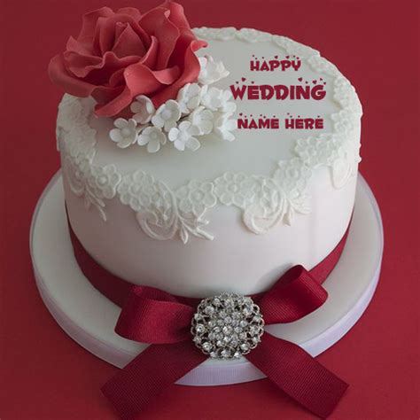 Wedding Wishes With Name Edit by Wedding Anniversary Cake And Name Wedding Anniversary