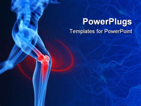 bone powerpoint template powerpoint template bones strength 22971