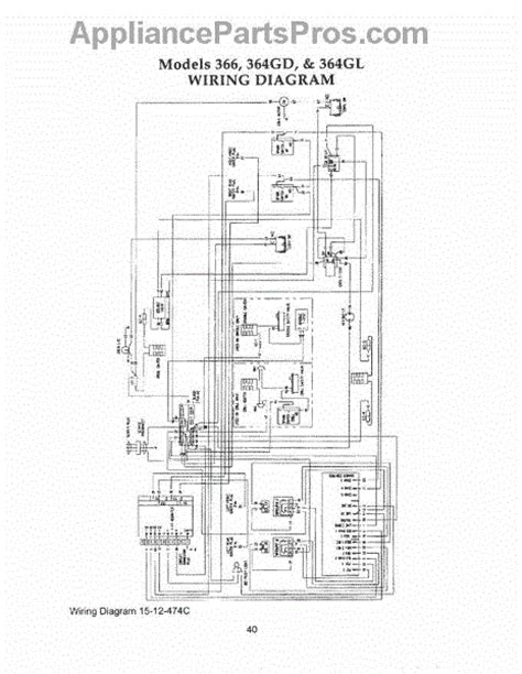 thermador range wiring diagram 28 images parts for