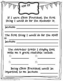 5th Grade President Report Outline by Class President Election Speech Freebie Science S S Happenings And Presidents