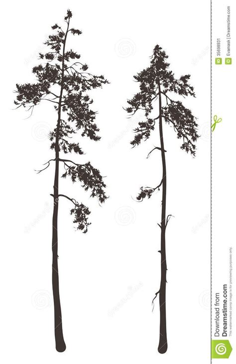 25 unique pine tree silhouette ideas on pinterest