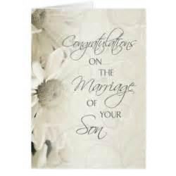 parents of the groom wedding congratulations card zazzle