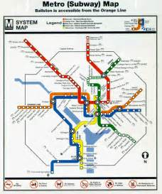 Image Of Metro Map by Teched99 Washington D C Metro Map
