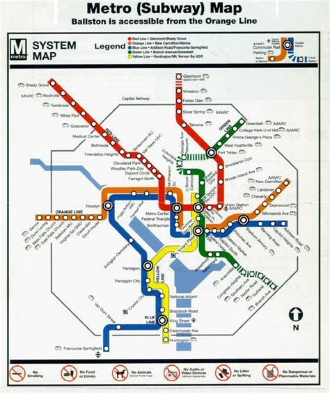 map of dc metro teched99 washington d c metro map