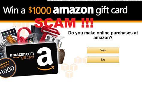 Amazon Gift Card Virus - amazon gift card scam entfernen